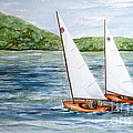 Racing On The Lake by Nancy Patterson