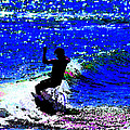 Rad Skimboarder by DigiArt Diaries by Vicky B Fuller