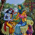 Radha Krishna Man Lila On Radha Kunda by Vrindavan Das