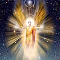 Radiance Angel Gold Tone by Endre Balogh