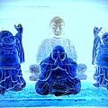 Radiant Buddhas by Ed Weidman