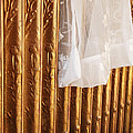 Radiator And Curtain by Penny Parrish