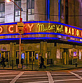 Radio City Music Hall by Jerry Gammon