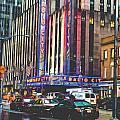 Radio City Music Hall New York City- 1 by Becca Buecher