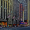 Radio City Music Hall Nyc by Bill Swartwout Photography
