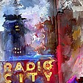 Radio City New York by Evie Carrier