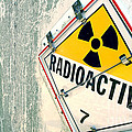 Radioactive Warning Sign by Olivier Le Queinec