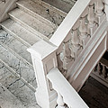 Raffle's Hotel Marble Staircase by Rick Piper Photography