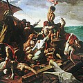 Raft Of The Medusa - Detail by David Lovins
