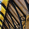 Rafters At London Kings Cross by Christi Kraft