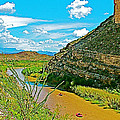 Rafting In Santa Elena Canyon In Big Bend National Park-texas by Ruth Hager