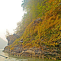 Rafting Near Shore In The Seti River-nepal   by Ruth Hager