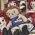 Raggedy Ann And Andy by Heather Applegate