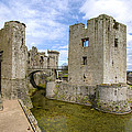 Raglan Castle - 5 by Paul Cannon