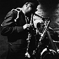 Rahsaan Roland Kirk At Penthouse Seattle 1967 by Dave Coleman