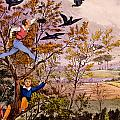 Raiding The Rook's Nest by Henry Thomas Alken