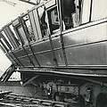 Rail Crash At Bethnal Green Four Coaches Derailed And by Retro Images Archive
