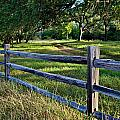 Rail Fence Scenic II by Gary Richards