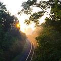 Rail Road Sunrise by Bill Cannon