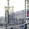 Railings And Lamp by Tom Gowanlock