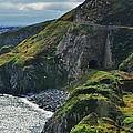 Railroad Through Bray Head, Ireland by Marcus Dagan