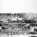 Railroad Bridge, 1858 by Granger