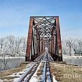 Railroad Bridge by Jack Schultz