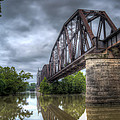 Railroad Bridge by James Barber