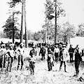 Railroad Camp, 1880s by Granger
