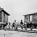 Railroad Chinese Workers by Granger