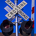 Railroad Crossing by Garry Gay