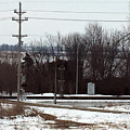 Railroad Crossing by James Pinkerton