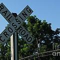 Railroad Crossing by Paul Wilford