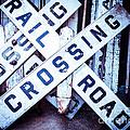 Railroad Crossings by Sonja Quintero