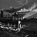 Railroad Danger Signal by Granger
