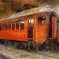 Railroad Gary Flyer Photo Art 02 by Thomas Woolworth