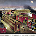 Railroad Junction, C1876 by Granger