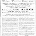 Railroad Land Sale, C1870 by Granger