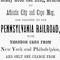 Railroad Resorts, 1884 by Granger
