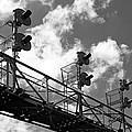 Railroad Signal Tower by Glenn Morimoto