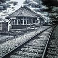 Railroad Ties Marlette Michigan by LeeAnn McLaneGoetz McLaneGoetzStudioLLCcom