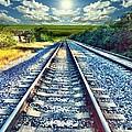 Railroad To Heaven by Carlos Avila