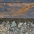 Railroad Track Closeup Background by Jit Lim