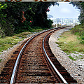 Railroad Tracks by Dennis Dugan