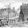 Railroad Washout, 1885 by Granger