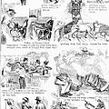 Railroading Cartoon, 1873 by Granger