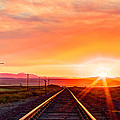 Rails To The Red Sky by John Lee