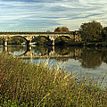 Railway Viaduct At Waterside - Stapenhill by Rod Johnson