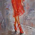 Rain In Manhattan by Ylli Haruni