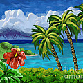 Rain In The Islands by Tim Gilliland